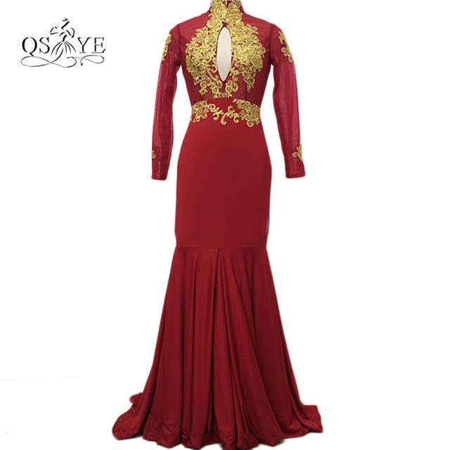 African Satin Evening Dresses