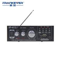 High Quality Amplificador Hi Fi Audio Mini Power Amplifier 12V AC 220V HiFi Stereo Car Audio Amplifier 2.1 Free Shipping AK 698D