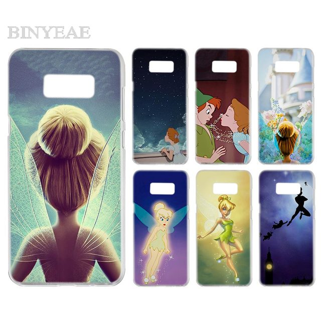 huge selection of 4e3eb 23fee US $1.88 5% OFF|BINYEAE Peter Pan Wendy Tinkerbell Transparent Phone Case  Cover Cases for Samsung Galaxy S3 S4 S5 S6 S7 S8 S9 Edge Plus Mini-in ...
