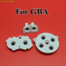 30 100 set di Nuovo per GBA di Gomma Adesivo Conduttivo Bottoni pad per Game Boy Classic GBA Silicone Avviare Selezionare tastiera