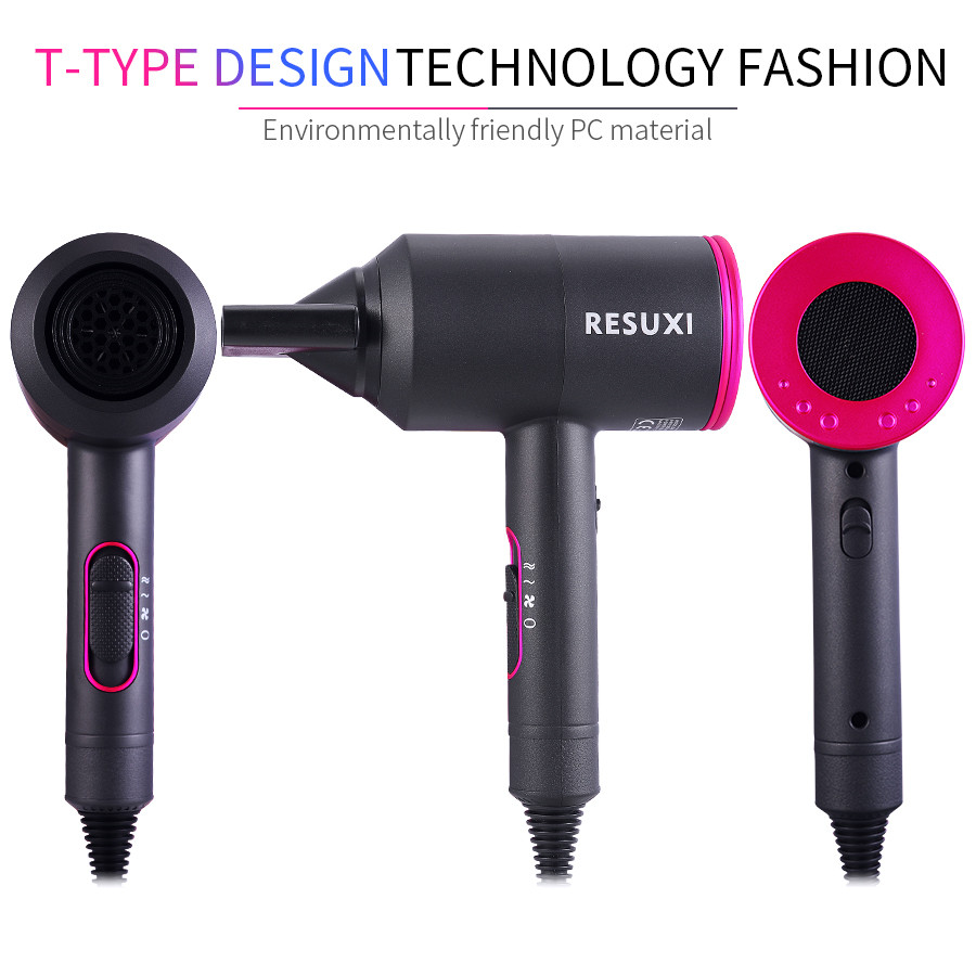 Professional 2000W Strong Power Hair Dryer for Hairdressing Barber Salon Tools Blower Dryer Low Hairdryer Hair Dryer Fan