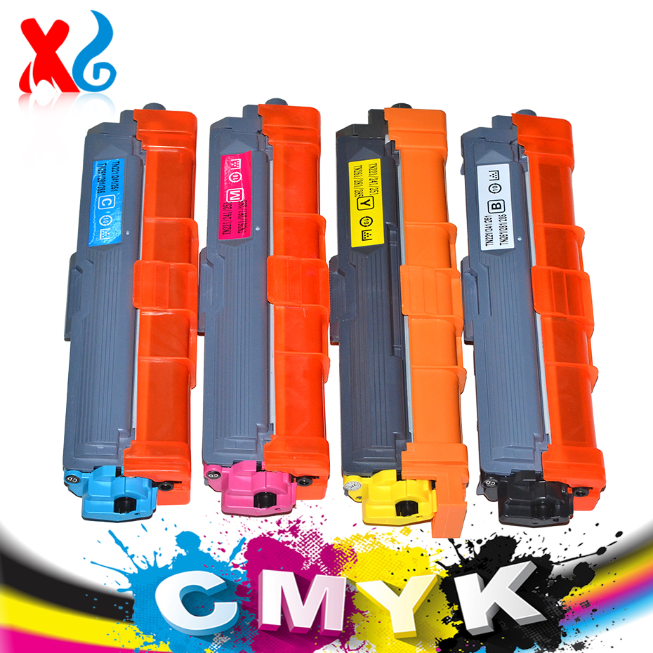XG CMYK Refill Toner Cartridge for Brother HL-3140CW HL-3170CDW DCP-9020CDW HL3170 TN221 TN225 TN241 TN245 TN251 TN261 Printer