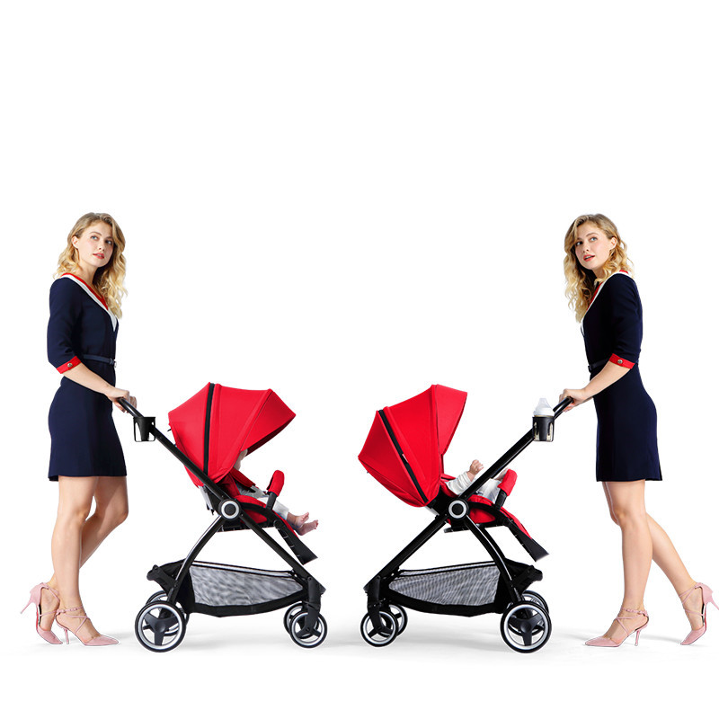 Four Wheels Baby Stroller Multifunctional bebek arabasi Folding Carriage European Pram Umbrella CarFour Wheels Baby Stroller Multifunctional bebek arabasi Folding Carriage European Pram Umbrella Car