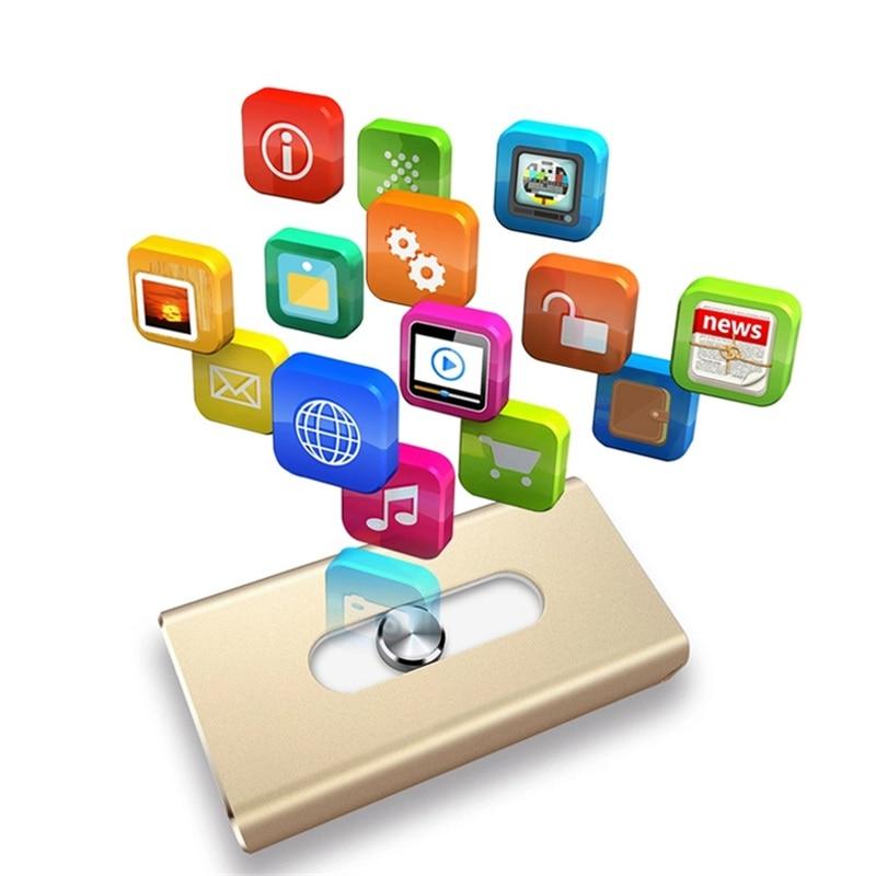 USB Flash Drives Android 32G 64G 128 Memory Stick För IOS11 iPhone - Extern lagring - Foto 6