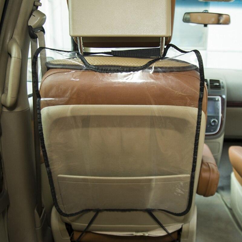 Protecteur de couverture arrière de siège de voiture de style de voiture pour Skoda Octavia A2 A5 A7 Fabia Rapid superbe Yeti Roomster