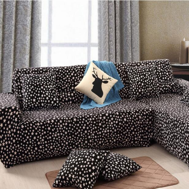 Black Star Children's Love Child Gifts Stretch Sofa Cover