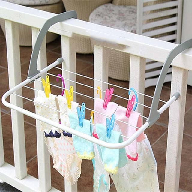 Inklapbare Handdoek Kleerhanger Hittebestendig Opknoping Soort Multifunctionele Radiator Droogrek & Creative Thuis TN99