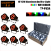 1pcs Lot Free Shipping Hi Powerful 270W Tricolor RGB 15pcs 15W Led Wall Washer Light Outdoor