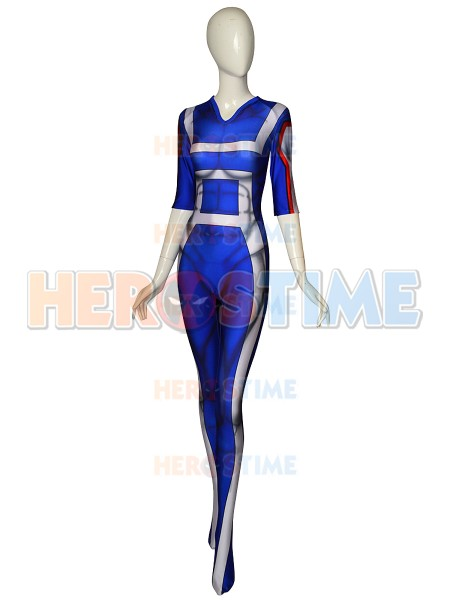 High Quality 3D Print Boku No Hero Academia My Hero Academia Gym Uniform Cosplay Costume Lycra Spandex Halloween Zentai Bodysuit