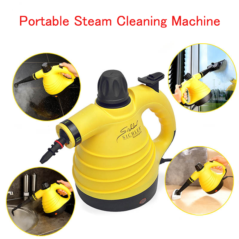 Portable handheld Steam Cleaner machine High Temperature Steam Cleaning  Kitchen clean Air Conditioner GF0004 xhorizon tm high quality robust hardshell portable handheld rotating holder impact