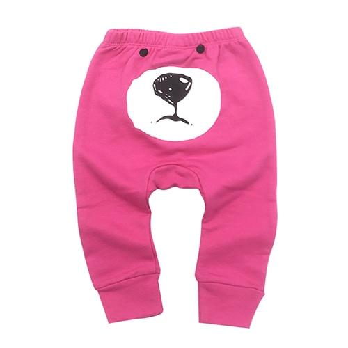 PP Pants 2019 Baby Fashion Model Babe Pants Cartoon Animal Printing Baby Trousers Kid Wear Baby Pants 0-24M