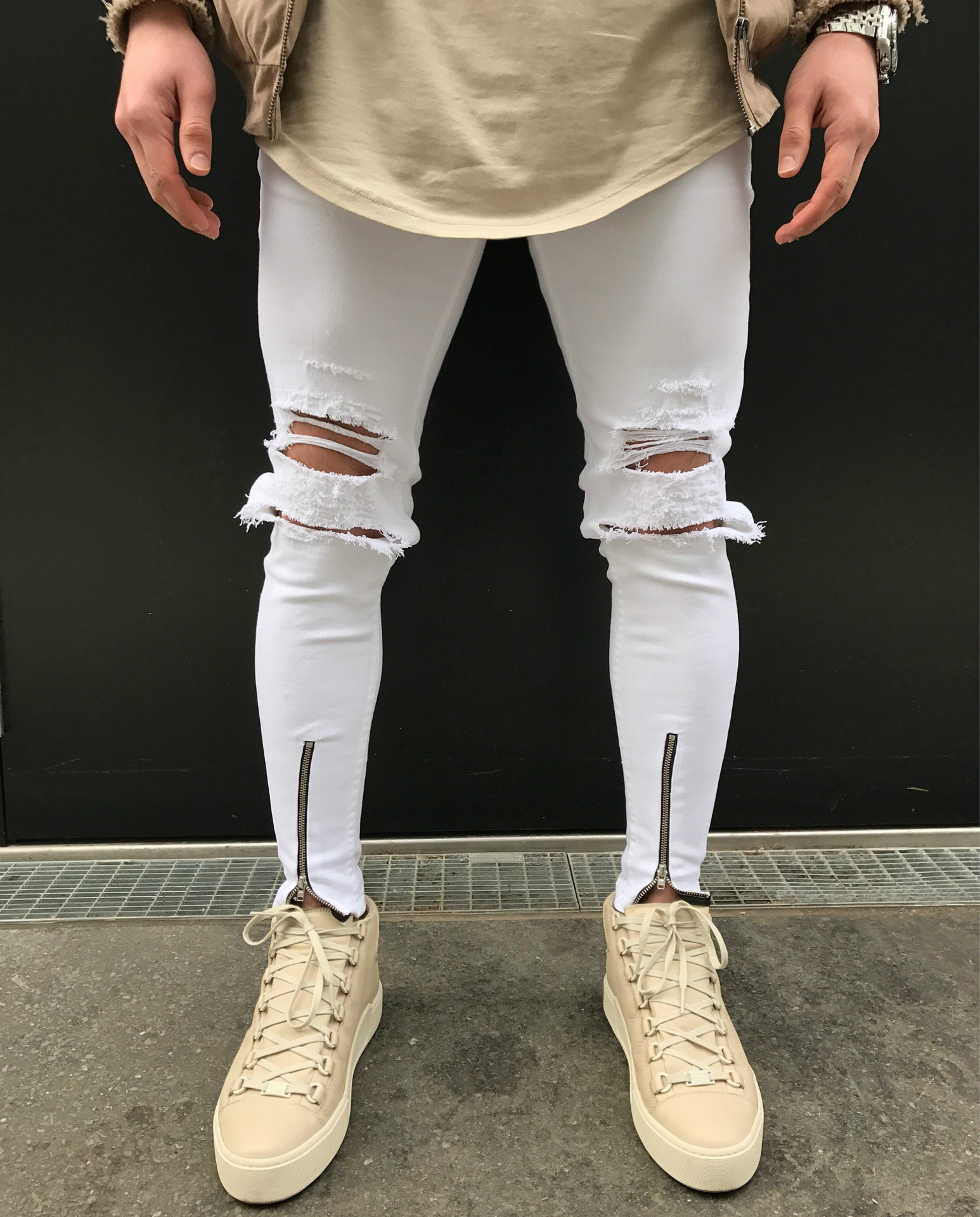 Popular Skinny Jeans Distressed-Buy Cheap Skinny Jeans Distressed ...