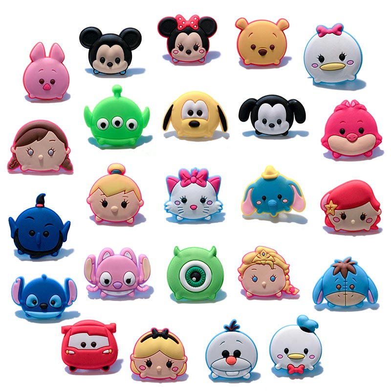 Novelty 1pc Tsum TsumPVC Shoe Charms Shoe accessories Shoe decoration Shoe Buckles Accessories Fit Bands Bracelets Croc JIBZNovelty 1pc Tsum TsumPVC Shoe Charms Shoe accessories Shoe decoration Shoe Buckles Accessories Fit Bands Bracelets Croc JIBZ