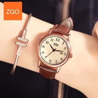 Zgo Bayan Saat Women Quartz Watches Ladies Top Brand Luxury Female Wrist Watch Girl Clock Relogio
