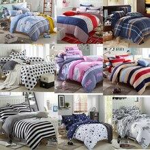 4 Pcs /Set Modern Style Bedding Sets Polyester Duvet Cover Set Bed Sheet Pillowcase Twin Full Queen size