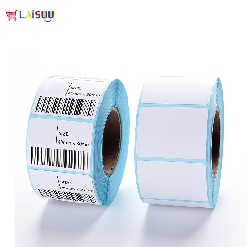 Купить с кэшбэком 15 Size Adhesive Thermal Label Sticker Paper Supermarket Price Blank Label Direct Print Waterproof 700pcs/Roll