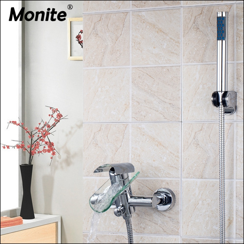 Bathroom Shower Faucet Bath Faucet Mixer Tap With Hand Shower Head Shower Faucets Set sognare wall shower faucets with hand shower head chrome polished double handle bathroom shower faucet set bath faucet tap d5206