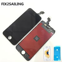 FIX2SAILING 100 Grade AAA LCD Display With Touch Screen Digitizer Assembly Replacement For Apple IPhone 5C
