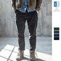 OLDSAINTS Повседневные Брюки Моды для Мужчин Slim Fit Брюки Мужчины Весна Осень Твердые Хлопок Брюки Высокое Качество Pantalon Homme #13-2-39