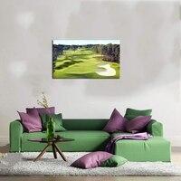 Wall Decor Living Room Golf Course Landscape Painting Canvas Print Wall Art Home Decor Artwork HD Prints Gym Entrance Decor Gift