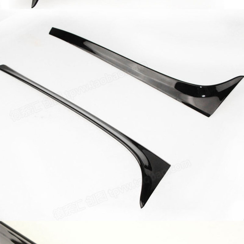 Golf 7 MK7 ABS Unpainted Auto Car black Spoiler Wing Lip for Volkswagen Golf 7 MK7 2014UP unpainted rear roof lip spoiler wing for bmw e87 e81 2004 2011