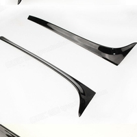 Golf 7 MK7 ABS Unpainted Auto Car Black Spoiler Wing Lip For Volkswagen Golf 7 MK7