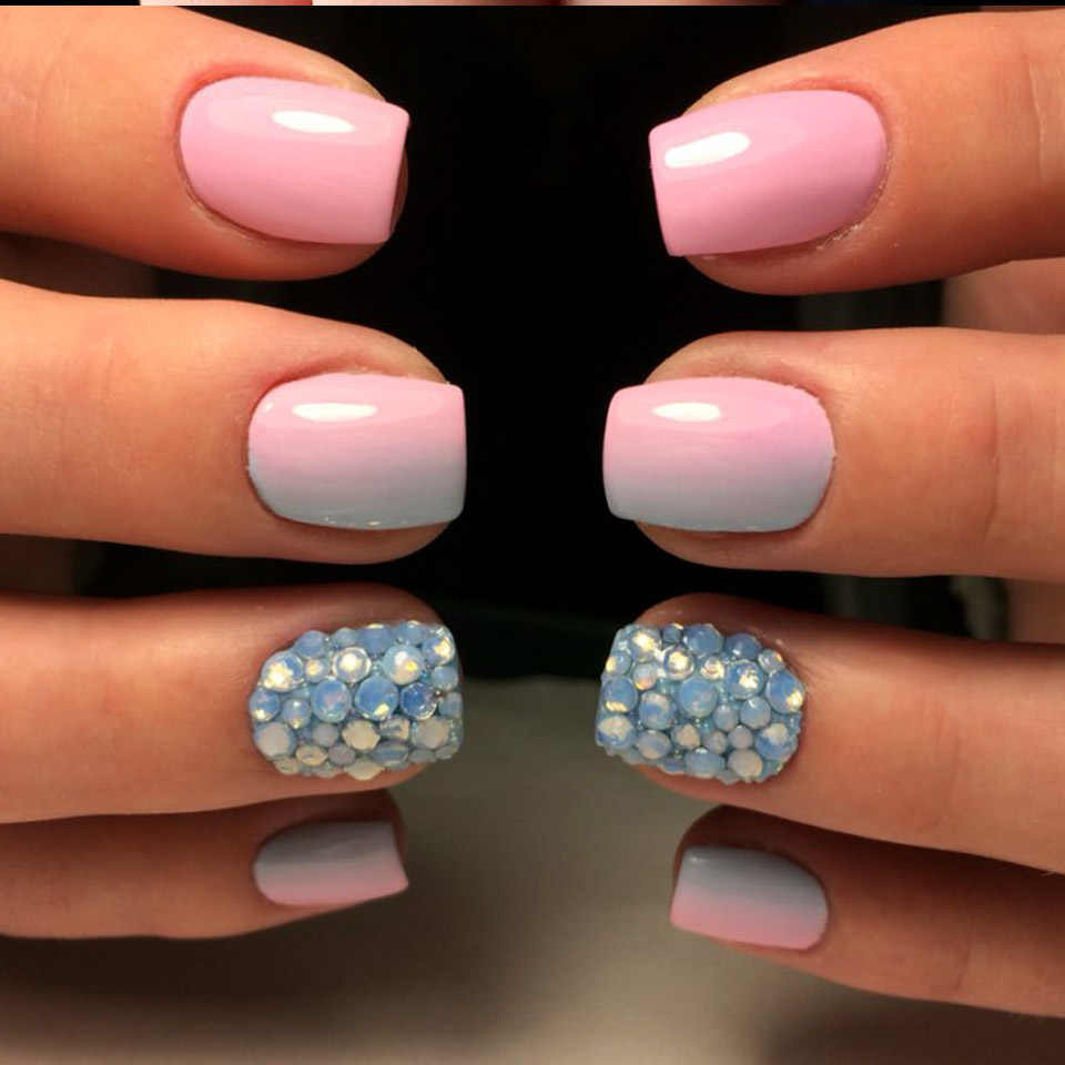 Decoration Ongle Nail Art Detail Feedback Questions About Opal Nails Rhinestones Crystals Of