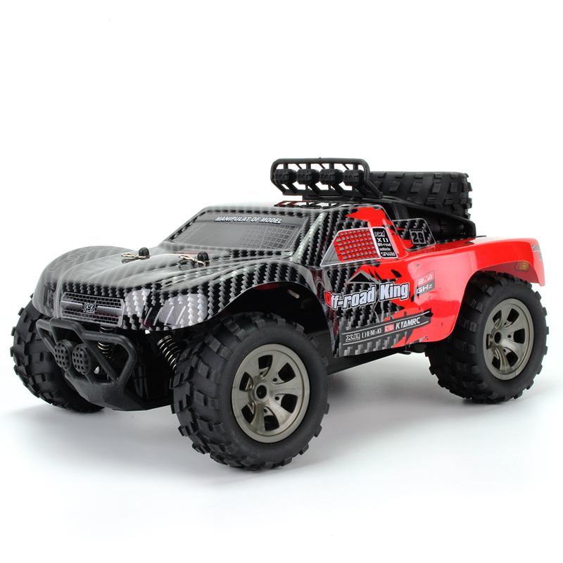 Big foot off-road vehicle 1:18 short truck 2.4G high speed pickup truck model image