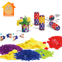Art And Crafts Materials For Kids DIY Creative Multicolour Handmade Handicraft Toys Building Block Model For Boys Girls