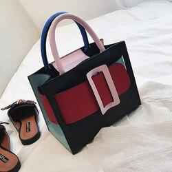 Bolsa de designer de moda britânica 2018 nova alta qualidade do plutônio couro das mulheres bolsa de malha corrente tote ombro crossbody sacos