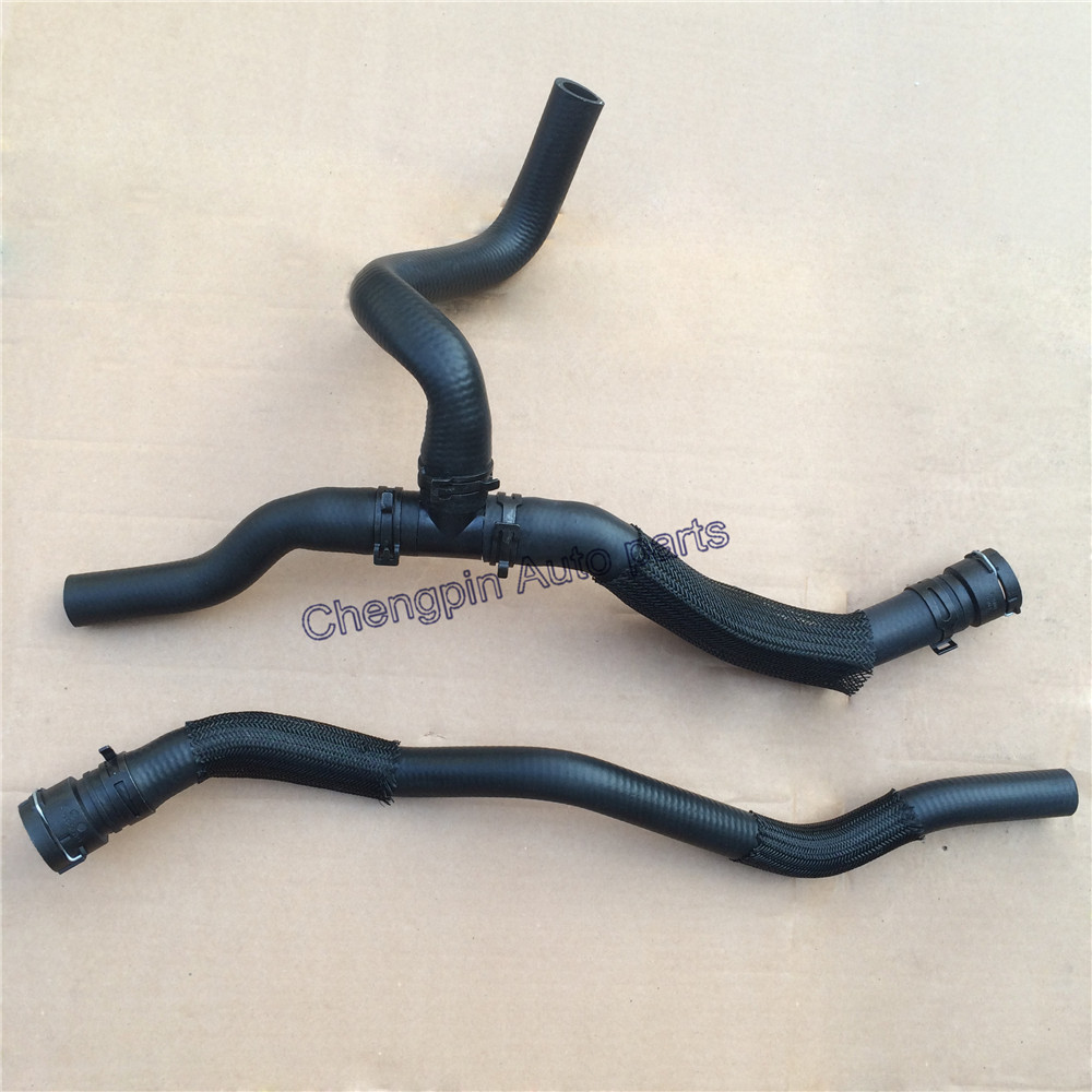 One Set Engine Coolant Inlet And Outlet Hose OEM 9075007 9075008 9073240 Warm water hose three