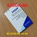 Bl-51yf bl-51yh 51yh bl 4200 mah batería para lg g4 h811 h810 VS999 V32 VS986 LS991 F500L F500 F500S F500K H815 H81 H818 H819