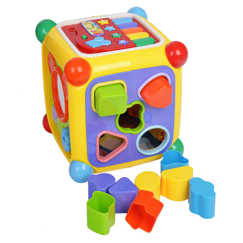 NEW Baby Toys Musical Activity Cube Play Center Toy With Piano 6 Functions & Skills Learning Educational Toys For Children Gifts