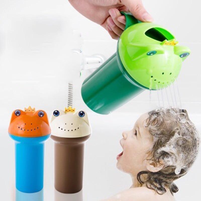 Милая мультяшная детская водная ложка для душа, для купания, для мытье чашек, мытье чашек