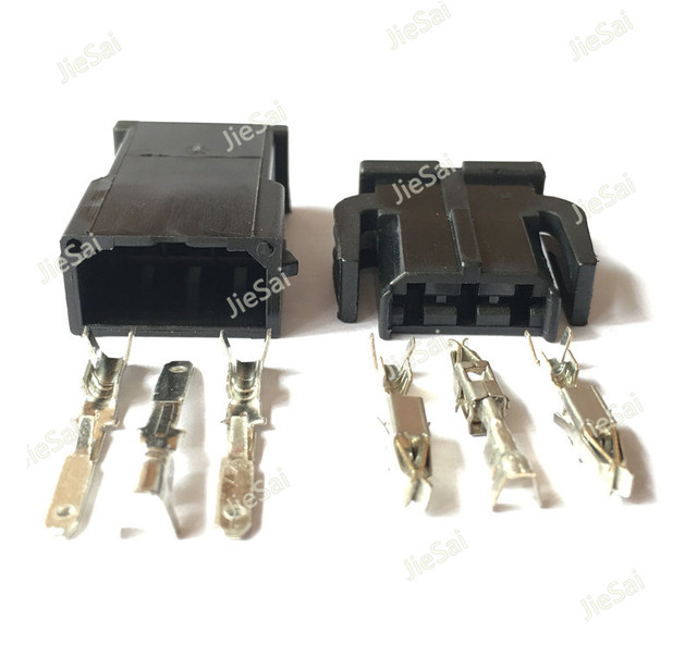 3 pin female male auto wire harness connector for vw 893 971 993 rh aliexpress com vw wiring harness connectors Honda Wiring Harness Connectors