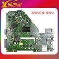 Para asus x550lc placa madre del ordenador portátil con cpu i3-4010u rev2.0 probado completamente