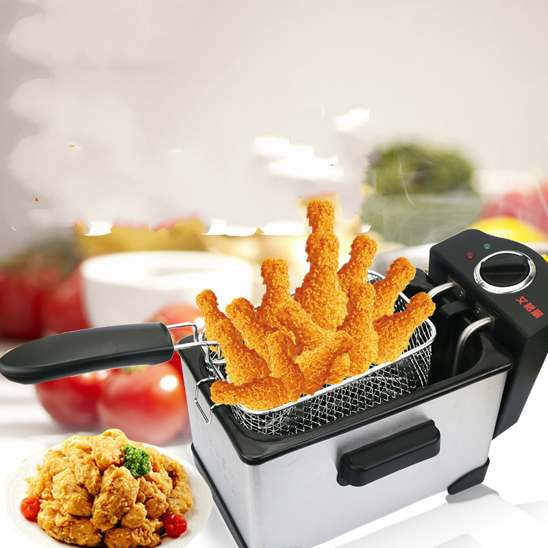 Electric Deep Fryers The electric fryer is used in the home of a divided frying pan.NEWElectric Deep Fryers The electric fryer is used in the home of a divided frying pan.NEW