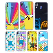 Silicone Phone Case Adventure Time Finn Jake for Samsung Galaxy Note 8 9 M30 M20 M10 S10 S9 S8 Plus Lite S6 S7 Edge Cover