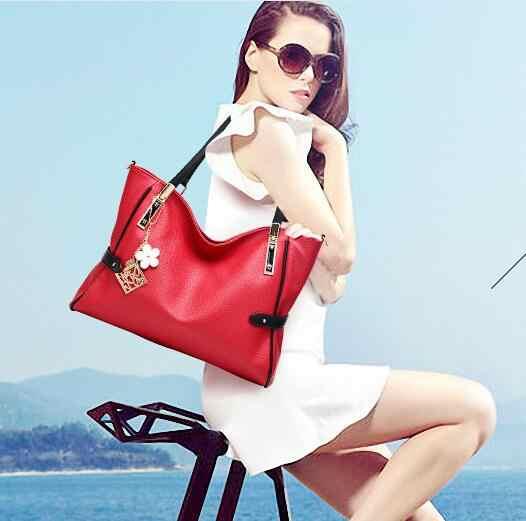 Padrão bolsa de moda bolsas de couro genuíno para as mulheres 2018 casual tote senhoras sacos de ombro borla feminino mensageiro sacos n369