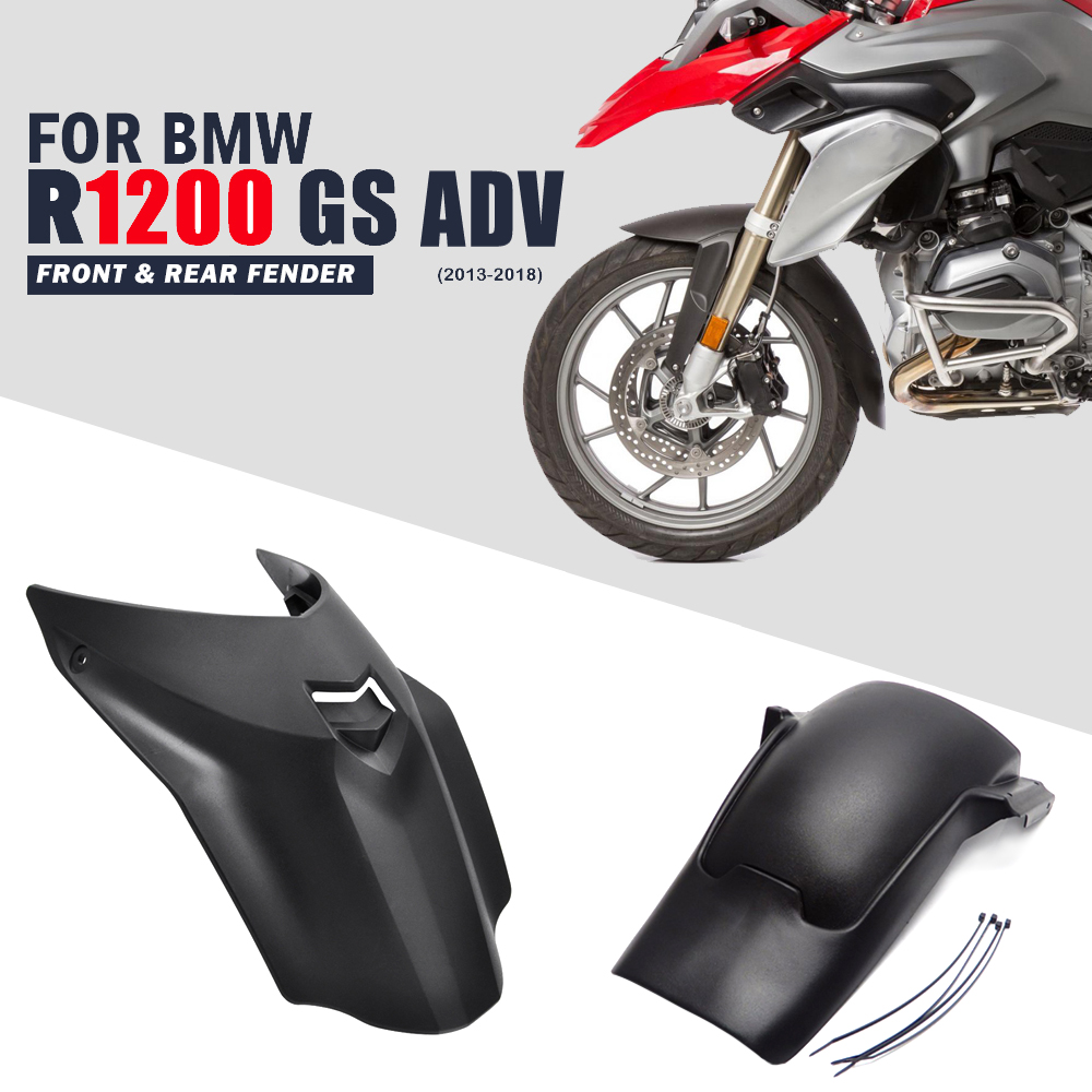 Front Fender Extender Mudguard Cover For BMW R1200GS//R1200GS Adventure 13-17 GB