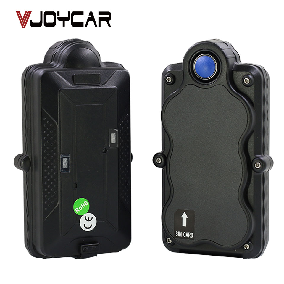 VJOYCAR 5000mAh Big Battery Portable GPS Tracker WiFi Data Logger Rechargeable Removable Battery Motion Sensor SOS Voice Monitor