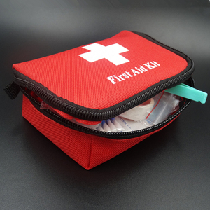 Image 2 - Hot Sale  Portable Travel First Aid Kit Outdoor Camping Emergency Medical Bag Bandage Band Aid Survival Kits