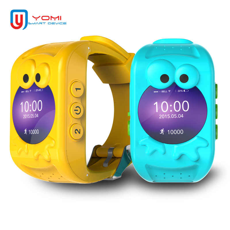 Smart Watch for Kids Support SIM Card GPS Smartwatch SOS Call Anti-lost Smart Device Phone Watch Smart Clock for Boys and Girls