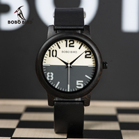 relogio masculino BOBO BIRD Wooden Watch Men Water Resistant Timepieces Japan Movement Quartz Watches in Wood Gift Box Men Creative Watches