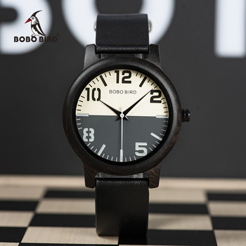 relogio masculino BOBO BIRD Wooden Watch Men Water Resistant Timepieces Japan Movement Quartz Watches in Wood Gift Box Men Creative Watches