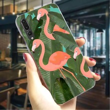 Banana Leaf Hard Cover for Huawei P Smart 2018 Pattern Phone Case P20 Pro 2019 Mate 10 Lite Cases Back