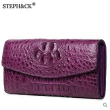 shidifenni crocodile clutch women bag ladies real crocodile leather wome bag business casual hand grab bag