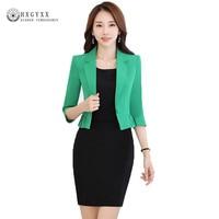 Spring Fashion Women Slim Blazer Casaco Feminino Coat Female Jackets Office Ladies Suit 2019 Casual Solid Short Outerwear Okb861