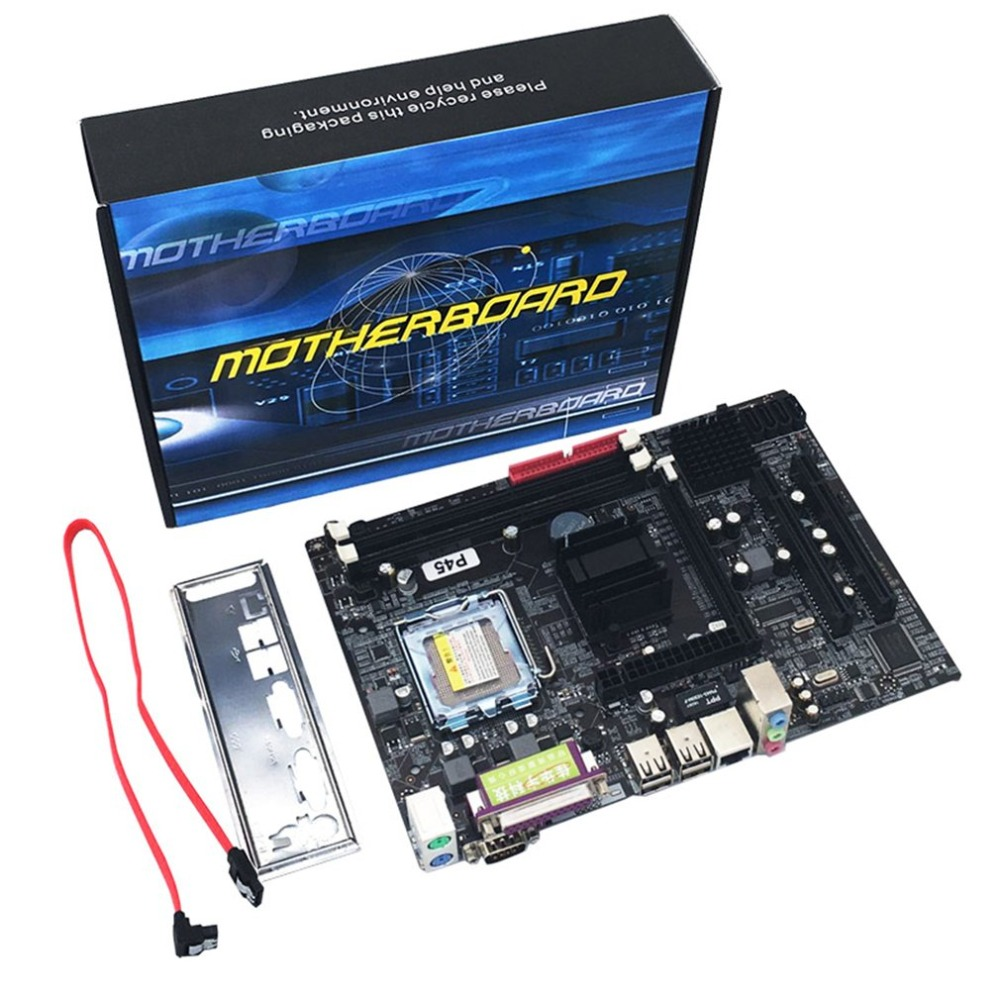 Mainboard P45 Socket LGA 771 DDR3 Memory 8GB Computer Motherboard Support Xeon CPU 6-channel Audio Chip new p45 771 pin motherboard ddr3 support xeon 5345 5420 e5440 e5450 and so on