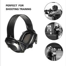 LESHP Tactical Shooting Headset TAC 6s Noise Canceling Sport Hunting Electronic Shooting Earmuff font b Headphone
